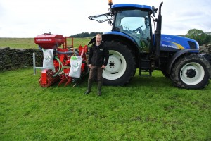 Seeding Demo with Townson Tractors And Greenmaster Seed Drills